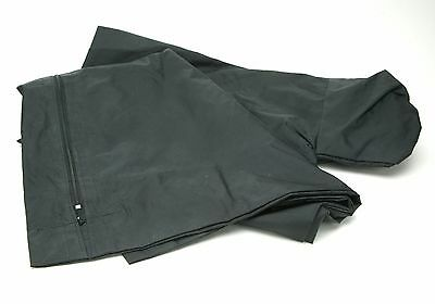 "Black Nylon 24x29"" Film Exchange & Load Bag For Up To 8x10"" Film Holders. Useful"