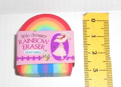 LITTLE DREAMER - Rainbow Eraser Perfumed 80s Lovely fan Japan radiergummi, gomma