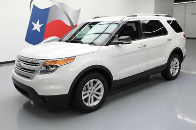 2014 Ford Explorer XLT Sport Utility 4-Door 2014 FORD EXPLORER XLT 7-PASS HTD LEATHER REAR CAM 26K #C56803 Texas Direct Auto