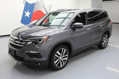 2016 Honda Pilot Touring Sport Utility 4-Door 2016 HONDA PILOT TOURING 8-PASS SUNROOF NAV DVD 35K MI #030901 Texas Direct Auto