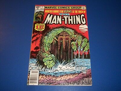 Man-Thing #1 Bronze Age VF Beauty Wow