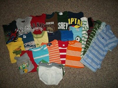 Boys 5T Spring/summer Clothing 44 Piece Lot! Xs, 4/5, 5T