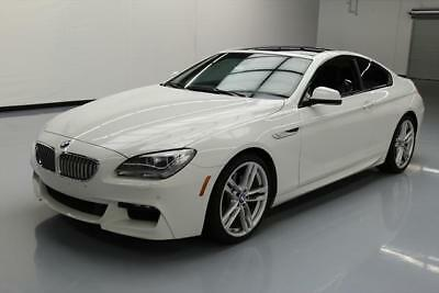 2013 BMW 6-Series Base Coupe 2-Door 2013 BMW 650I M-SPORT EXECUTIVE SUNROOF NAV 20'S 26K MI #W20037 Texas Direct