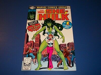 She Hulk #1 Bronze age Key Issue 1st Appearance and Origin Issue Nice VF/NM Gem