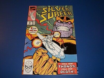 Silver Surfer #34 Return of Thanos VF+ Beauty Wow