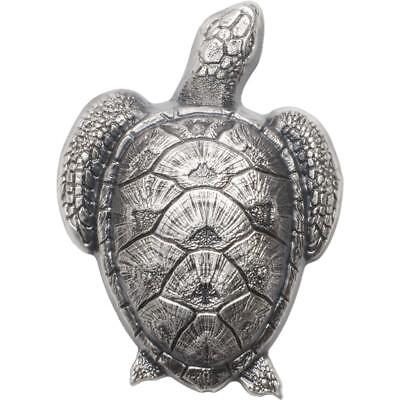 Palau 10$ Sea Turtle in Silver 45g 999 Silver Antique Finish Coin Smart Minting