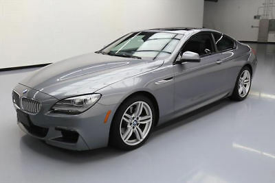 2013 BMW 6-Series Base Coupe 2-Door 2013 BMW 650I M-SPORT EXECUTIVE SUNROOF NAV HUD 32K MI #W20084 Texas Direct Auto