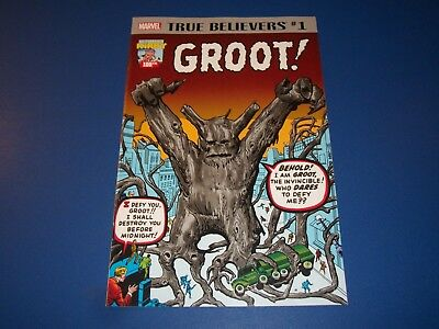 Tales to Astonish #13 1st Groot True Believers Reprint NM Gem Wow Guardians