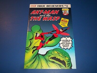 Tales to Astonish #27 1st Ant-man, 44 1st Wasp True Belivers Reprint NM Gem Wow