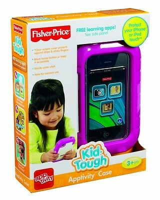 Fisher-Price Kid Tough Apptivity Case NIB Protect your iPhone or iPod Touch