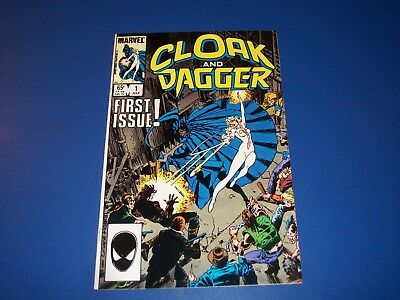 Cloak and Dagger #1 Bronze Age FVF Beauty New TV Show Spider-man WOW!