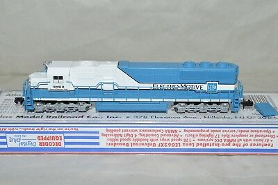 N scale Atlas GM EMD Lease Demonstrator SD 60 locomotive train DCC EQUIPPED