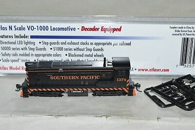 N scale Atlas Southern Pacific RR Baldwin VO-1000 locomotive train DCC EQUIPPED