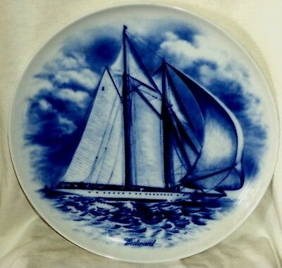 Kaiser Porcelain Plate Westward Great Yachts Series Limited Edition West Germany