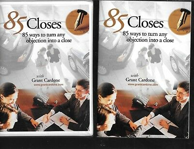 85 Closes: 85 Ways To Turn Any Objection Into A Close Grant Cardone 2 Audio Cd