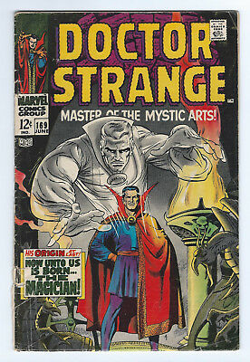 Doctor Strange  #169     Good    Cond.    (2.0)      1968     #1 - Origin Retold