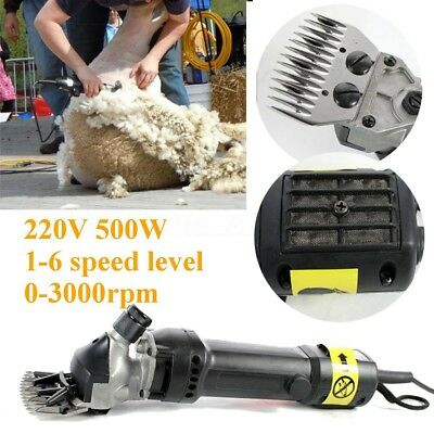500W 220V Electric Sheep Clipper Shear Sets for Shearing Sheep Goat Alpaca Farm