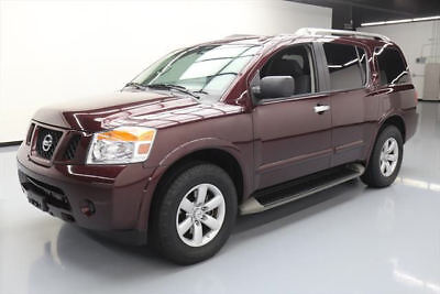 2014 Nissan Armada  2014 NISSAN ARMADA SV 8-PASSENGER RUNNING BOARDS 58K MI #603200 Texas Direct