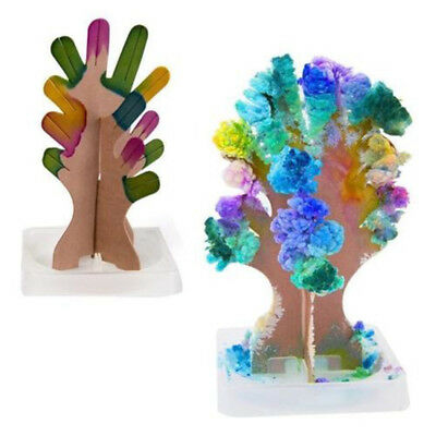 1Set Xmas Tree Christmas Decoration Magic Growing Paper Tree Kid Interactive Toy