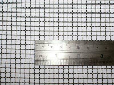 Woven Wire 5 Mesh - 30X60cm Size - 4.5mm Hole - 0.7mm Wire- Stainless Steel 304L