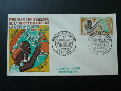 first year of independance FDC Ivory Coast 1961 (1)