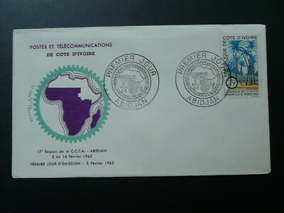 technical cooperation in Africa CCTA FDC Ivory Coast 1962 (1)