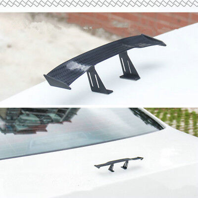 Car Styling Tail Mini Plastic Spoiler Wing Car Rear Riffing Decoration Accessory