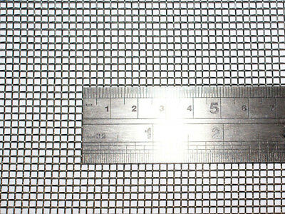 Woven Wire 10 Mesh - 30X60cm Size - 2mm Hole - 0.6mm Wire - Stainless Steel 304L
