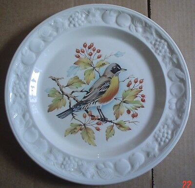 Palissy Royal Worcester Collectors Plate AMERICAN ROBIN - AMERICAN BIRD SERIES