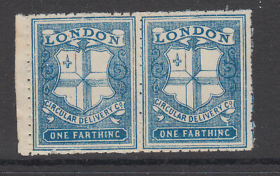 London - One Farthing - (1) - Circular Delivery Companies -  Cinderella