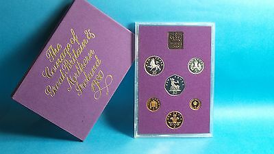 1980 United Kingdom Official Proof Coin Collection