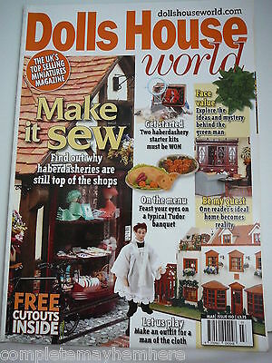 Dolls House World March 2005 Issue 150 make an outfit, Tudor banquet