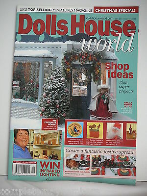 Dolls House World December 2001 Issue 111 - Shop Ideas, Winter Outfit