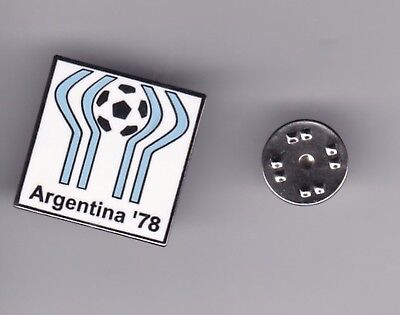 World Cup Logo - Argentina'78 - lapel badge butterfly fitting