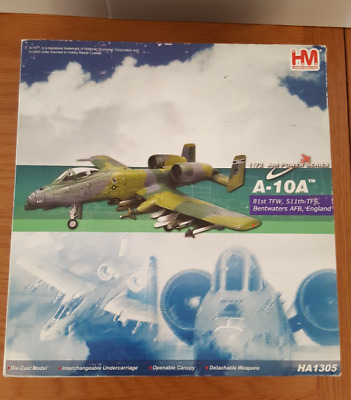 Hobby Master HA1305 1/72 A-10A Thunderbolt ,USAF RAF Bentwaters SMALL ISSUE