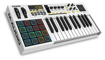 M-Audio Code 25 Usb Midi Keyboard Controller X/y Touch Pad 25 Tasten 16 Led Pads