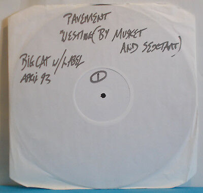 PAVEMENT Westing By Musket And Sextant - UK White Label Promo LP - Indie Lo-Fi