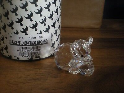 Boxed Asfour Diamond Crystal Ornament - BEAR & HONEYPOT