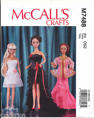DOLL CLOTHES MOD Fashion for Barbie Doll Pattern 08031750808 - £4.45 ...