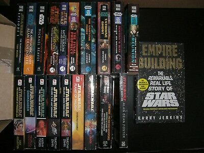 Job lot of 20 x Star Wars Books by Various Authors.