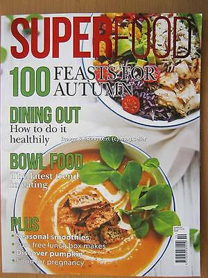 Superfood magazine September October 2016 Smoothies Pumpkin Feasts for Autumn