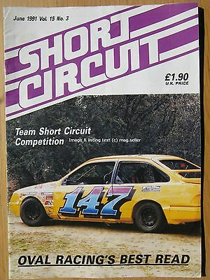 Short Circuit magazine June 1991 Stock Car Hot Rod Ian Jarman Marty Page Stroud