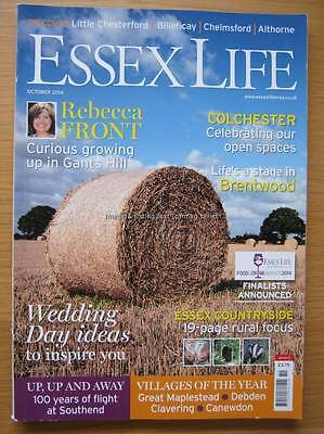 Essex Life magazine October 2014 Rebecca Front Colchester Brentwood Southend