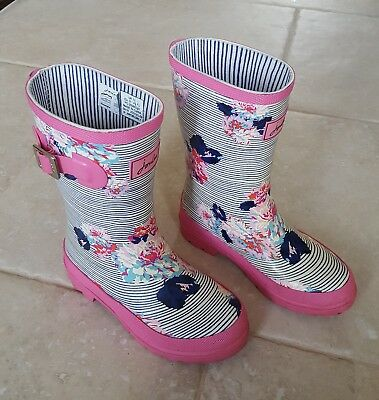 Girls joules wellies size 12