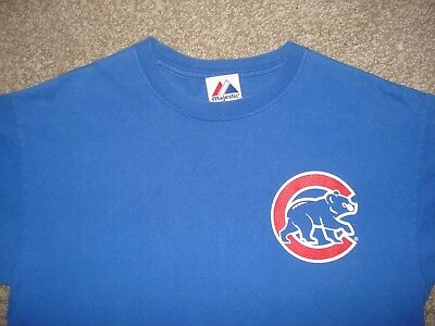 Chicago Cubs Baseball T-Shirt Majestic