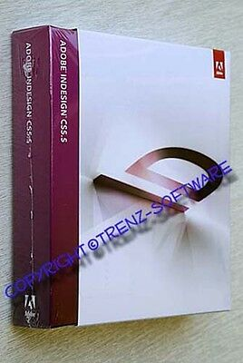 neu: Adobe Indesign CS5.5 Macintosh deutsch Box - incl. MwSt - CS 5.5
