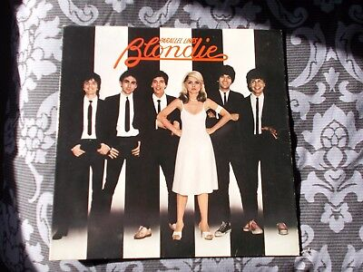 Blondie Parallel Lines Chrysalis Original Vinyl Album Lp