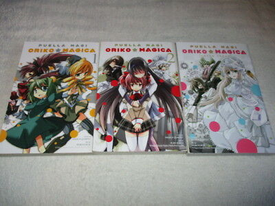 PUELLA MAGI ORIKO MAGICA  |  Volume 1, 2 and Extra Story  |  All 3 volumes L@@K