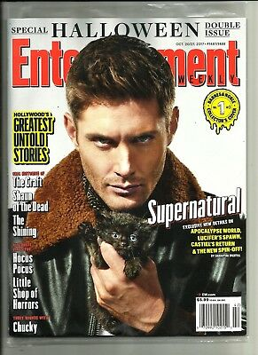 Entertainment Weekly-10/2017-Jensen Ackles-Supernatural-Halloween Special-No Ml
