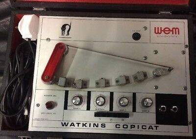 Wem Watkins Copicat Great Condition Copycat 70s Solid State